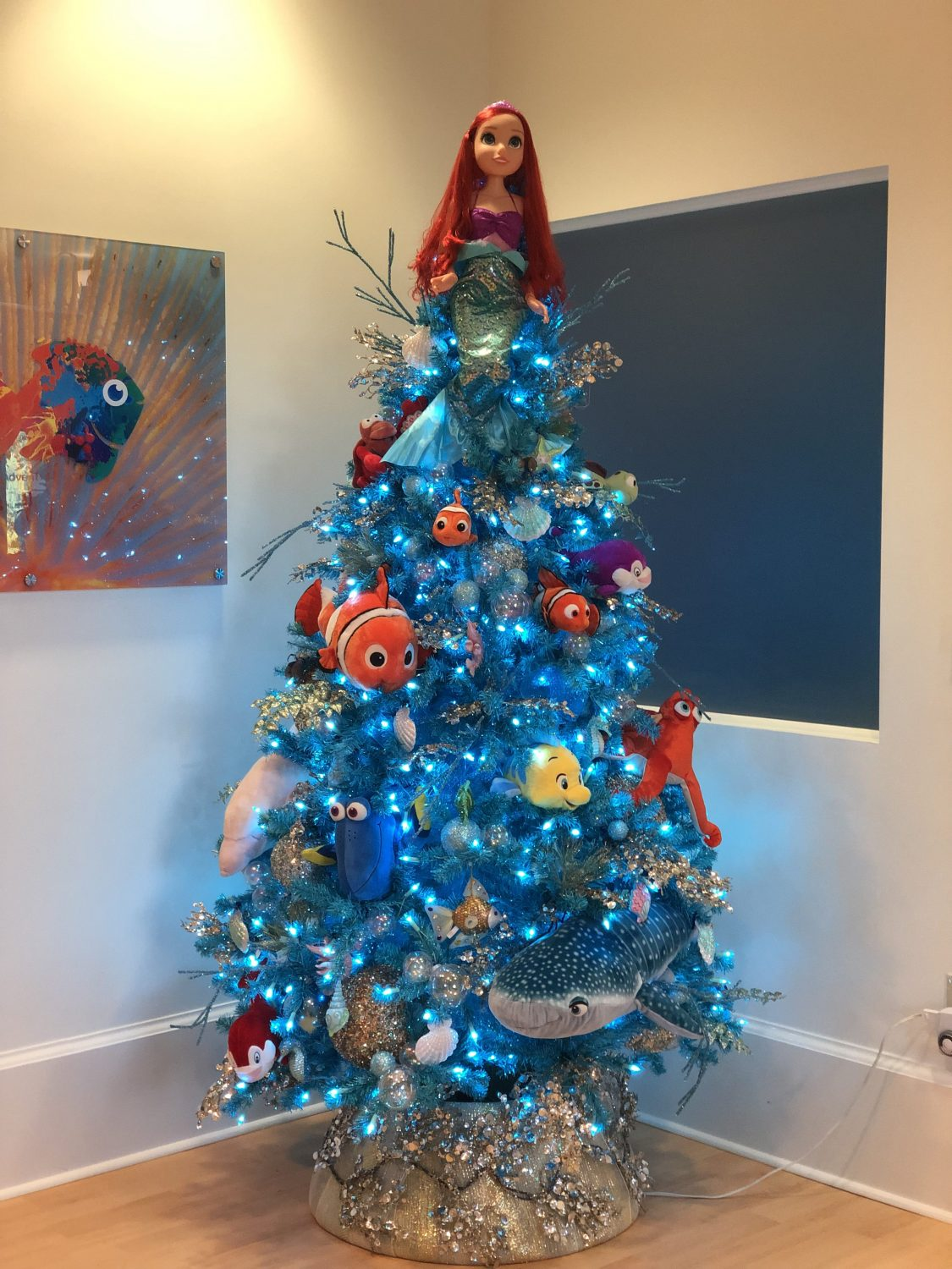 Green Thumb Interior Orlando Pediatric ER Under the Sea tree