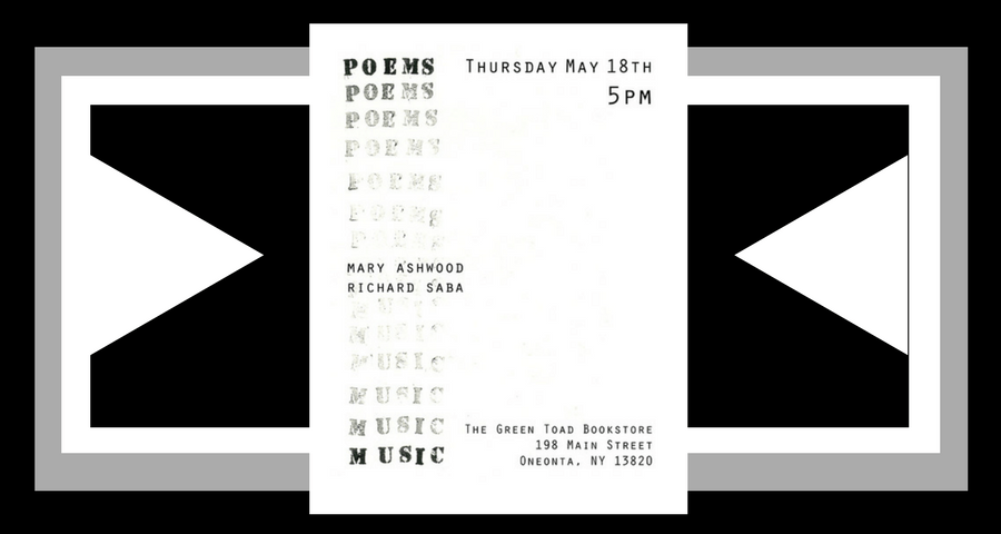 Mary Ashwood and Richard Saba: Poems & Music