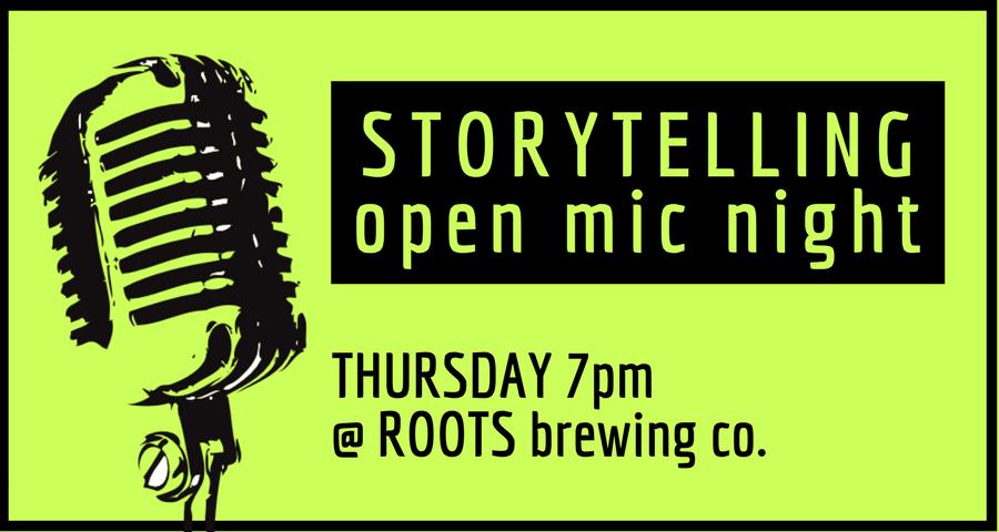 Storytelling Open Mic Night