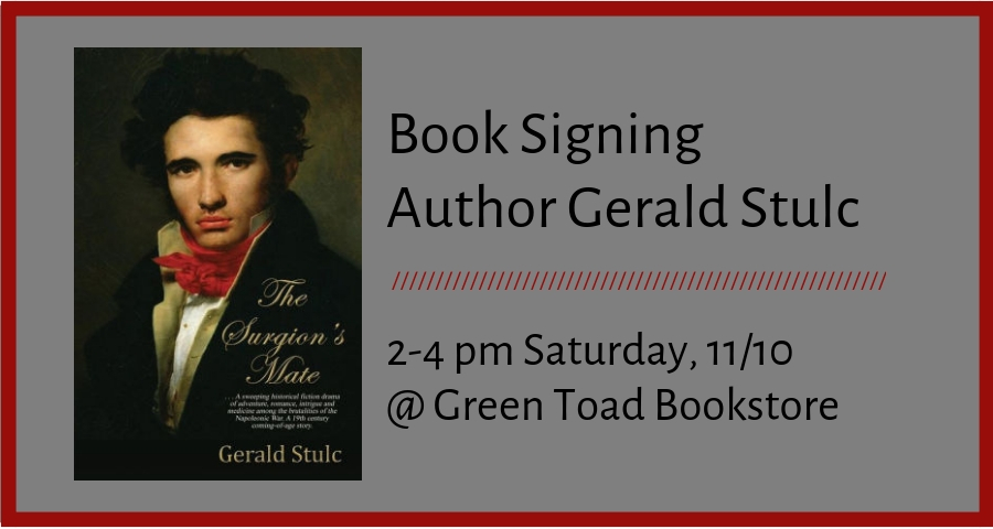 Book Signing by Gerald Stulc
