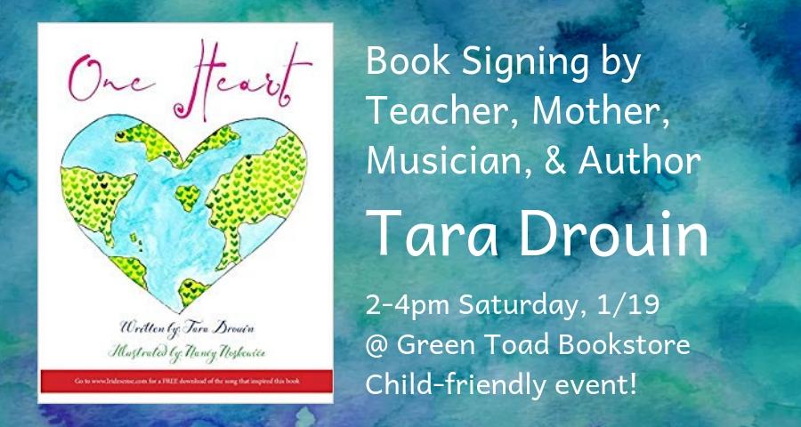 Book Signing by Tara Drouin