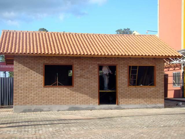 Materiais Sustentáveis tijolo reciclado