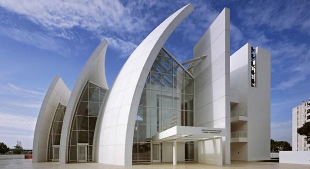 Igreja Dives in Misericordia. (Fonte: Isplora).