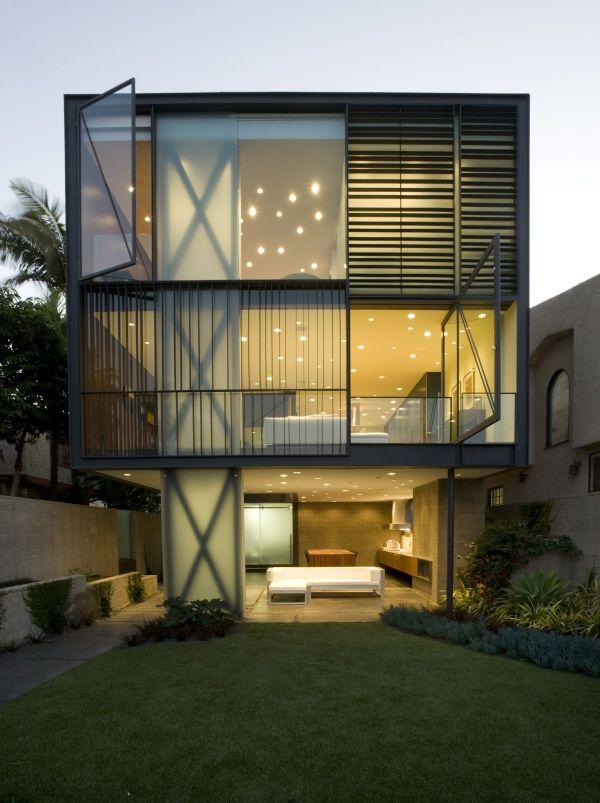 """A Hover House 3, que em tradução livre quer dizer """"a casa que paira"""". (Fonte: Architect's list)."""