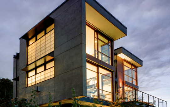 A Capitol Hill Residence, em Seatle. (Fonte: Archdaily).