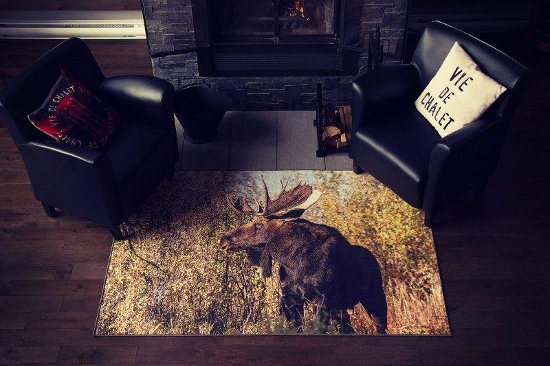 G8011 02 Orignal-Chevreuil tapis carpet