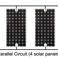 Diy Solar Panel Wiring Diagram Sunpro Tach Understand Home Power System Design With This Detailed Walk Parallel Connected Array