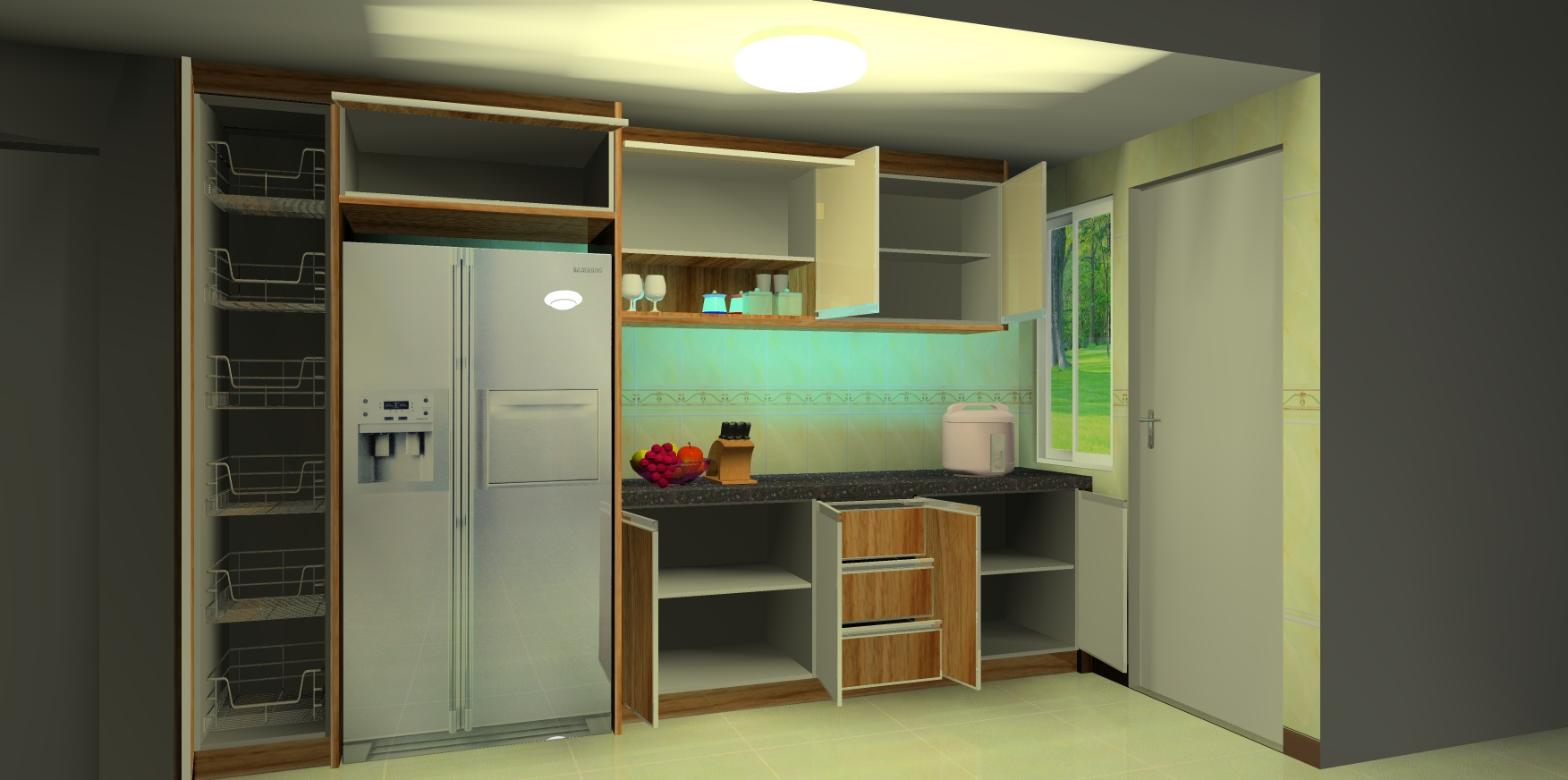 custom kitchen cabinet cabinets designs green tree enterprise | we are specialist in ...