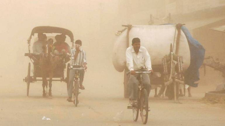 Dust Storm hits Delhi: CSE Experts Blame Climate Change