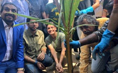 Earth Day in Bollywood: Dia Mirza, Anushka Sharma, Juhi Chawla, Yuvraj