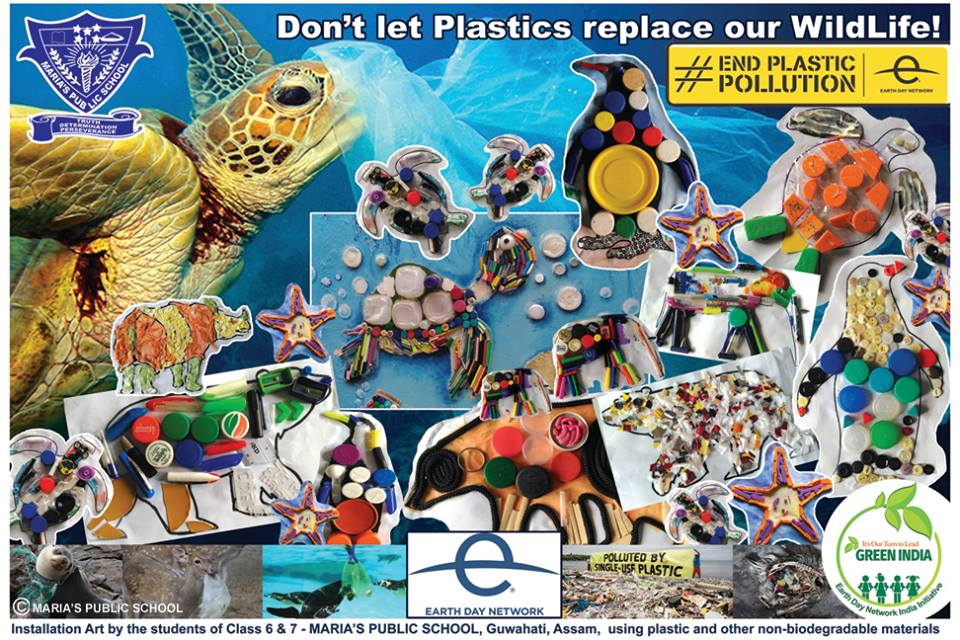 Earth Day 2018: Let's pledge to end plastic pollution and use