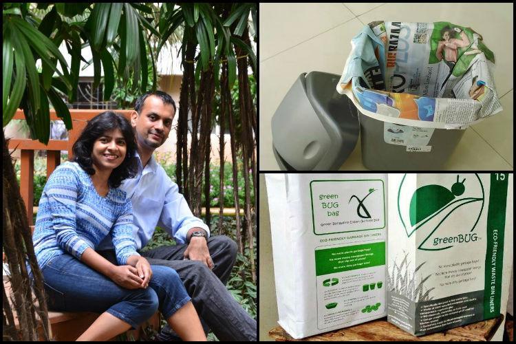 greenBUG Innovative Solution to Plastic Bags: Beat Plastic Pollution