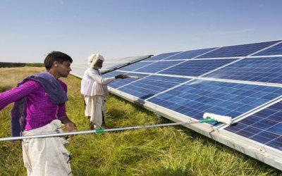 City Air Pollution Cuts Solar Panel Efficiency in Delhi, London, Los Angeles