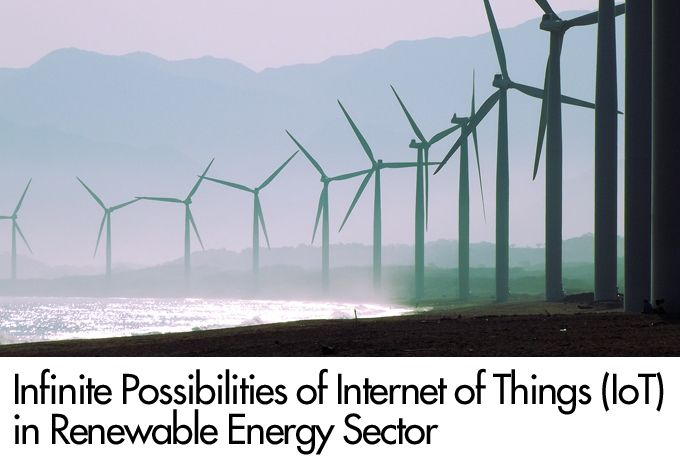 Use Internet of Things (IoT) tech for renewable energy optimization
