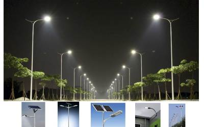 Solar street lights installed in Meghalaya, India, to fight climate change