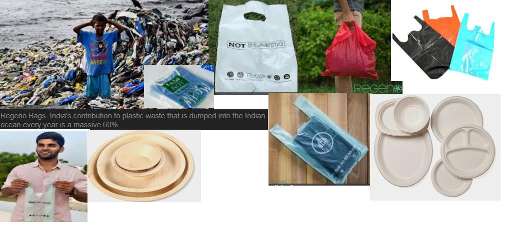 Fight plastics: Indian innovator Regeno makes eco-friendly biodegradable bags