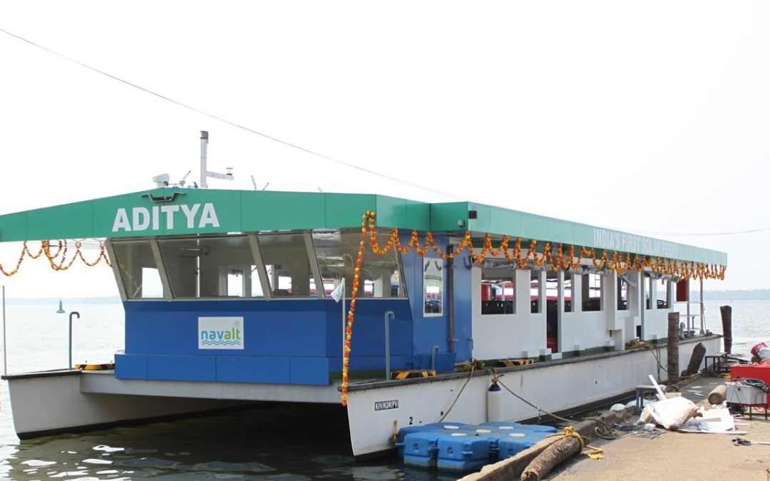 India's 1st solar ferry Aditya is noiseless, fights pollution: Go Green