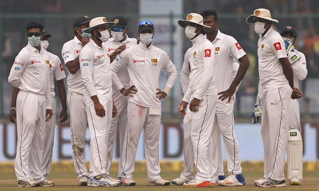 How deadly Delhi smog stopped India-Sri Lanka cricket Test match