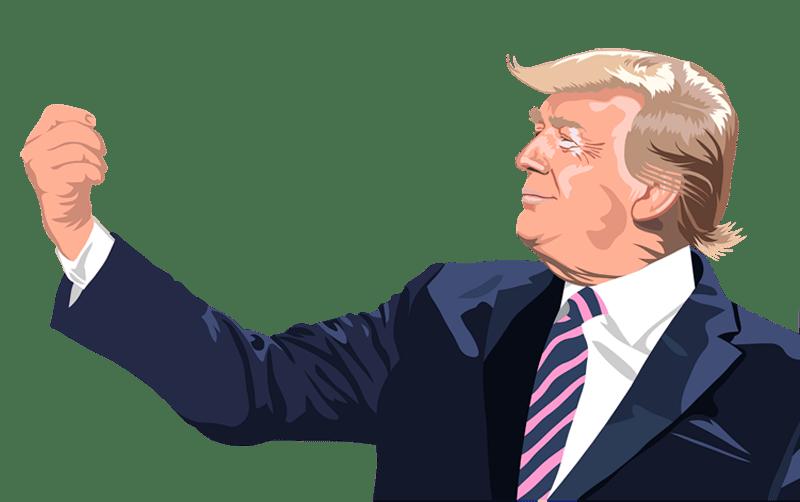 Donald Trump: Jeg er stolt af, hvad vi har udrettet