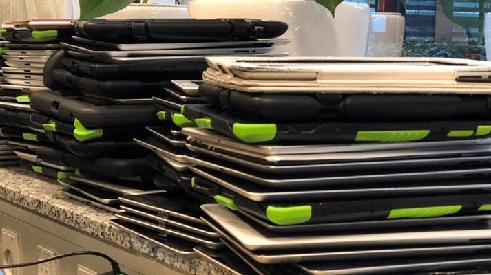 Gladsaxe indsamler og genanvender udtjente iPads