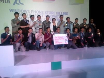 juara 1 semua kategori naik podium