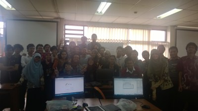 kelas yang paling jago koding :)