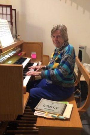 Organist at First Church of Christ, Scientist, Green Valley