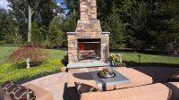Outdoor Fireplace, outside fireplace, backyard fireplace ...