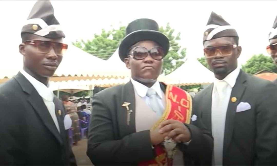 Ghana Pallbearers