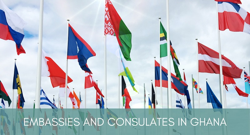 Influential Embassies and Consulates In Accra