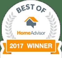 Best of Home Advisor 2017 winner