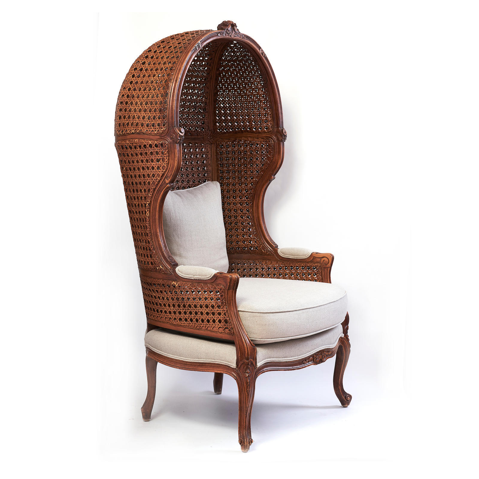 french canopy chair building a rocking plans provincial archive greenwald antiques