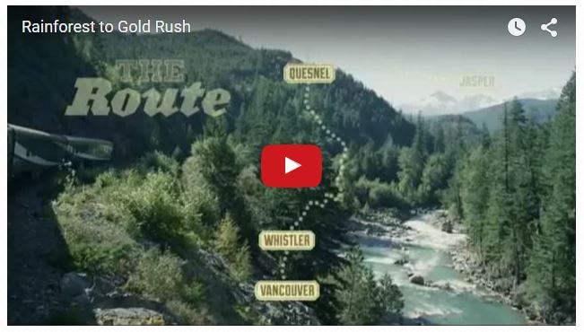 Rocky Mountaineer – Rainforest to Gold Rush