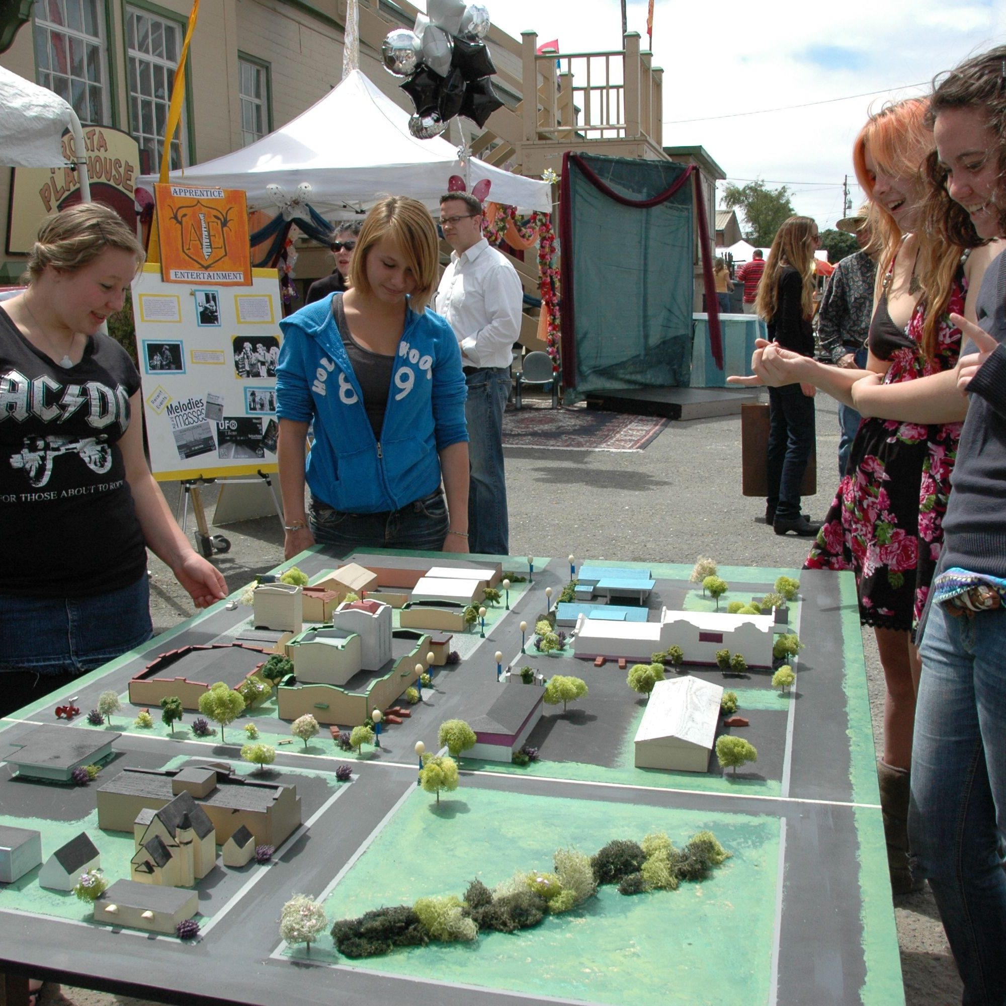 Engaging the Community in the Creamery District visioning