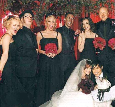 Celeb Wedding Inspiration Ashlee Simpson  Pete Wentz  Green Wedding Shoes  Weddings Fashion