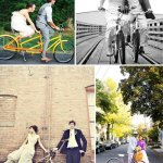 couple on bicycle