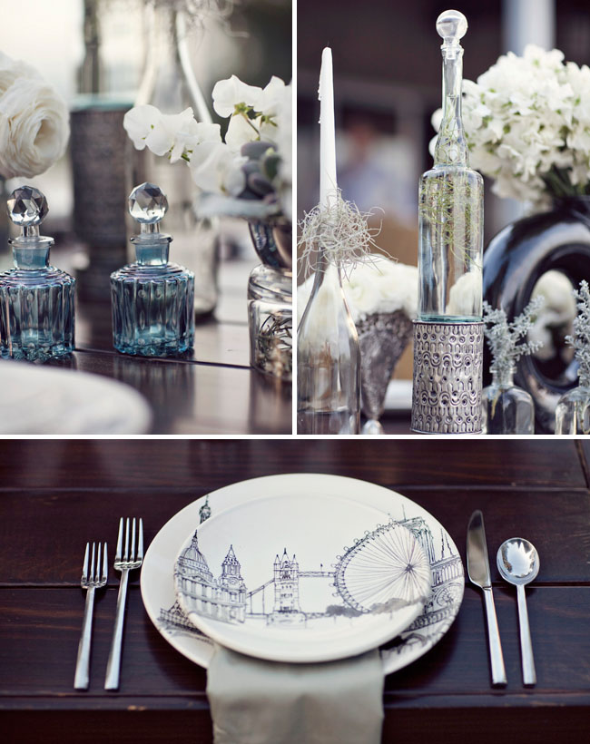 A Bit Modern + A Bit Vintage For Your Wedding  Green
