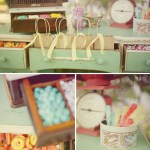 sweets table for wedding