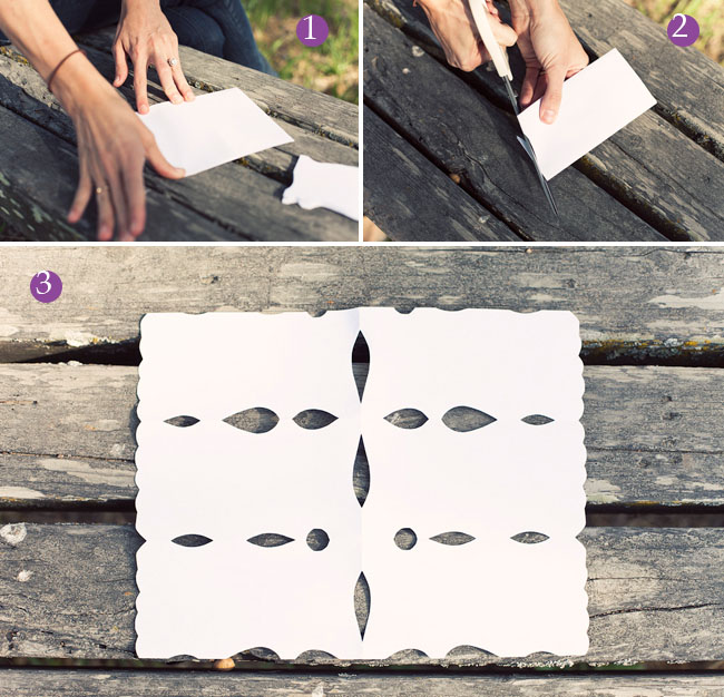 DIY Papel Picado Flags