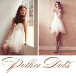 sarah seven polka dot wedding dress