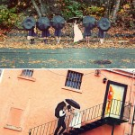 wedding photos with umbrellas
