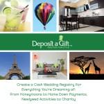 deposit a gift registry