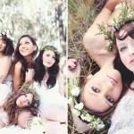 bohemian bridesmiads