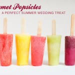 gourmet popsicles for wedding