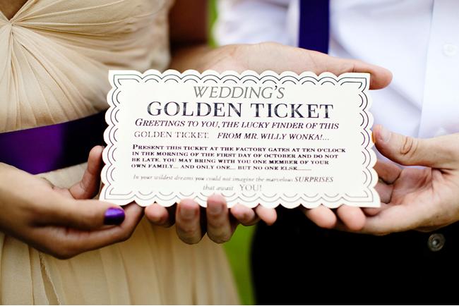 A Wonka Inspired Wedding Shoot