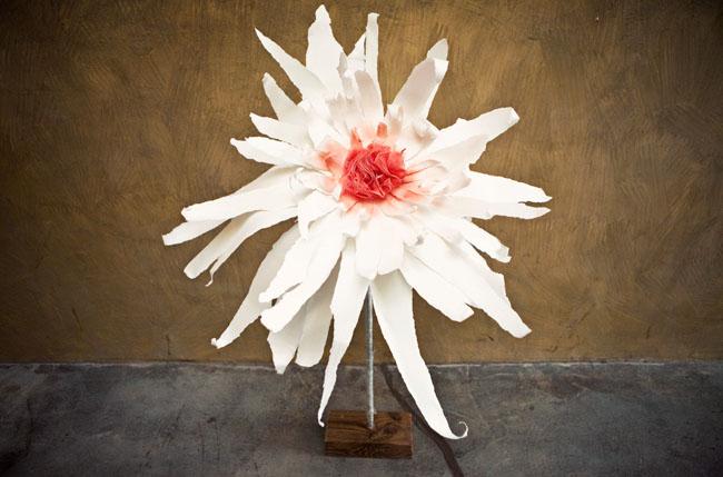 DIY Giant flower wedding