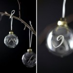calligraphy-decals-DIY glass ornaments