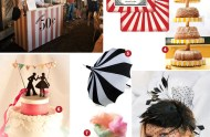 get the look circus wedding