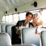couple in bus