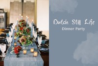 dutch still life dinner party